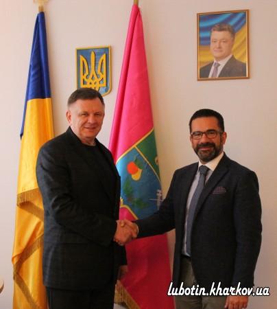 Зустріч міського голови з Почесним консулом України в м. Падуя  (Італійська республіка) Марко Тозоном