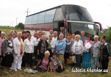 Представники Люботинської ветеранської організації відвідали Національний Сорочинський ярмарок