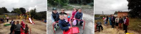 Урочисте відкриття двох останніх дитячих майданчиків із 13 запланованих