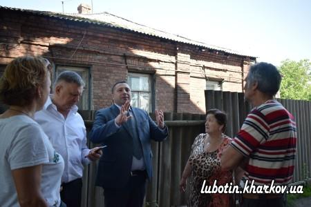 Сьогодні у місті Люботині із робочою поїздкою перебував заступник голови Харківської обласної державної адміністрації Вадим Данієлян.
