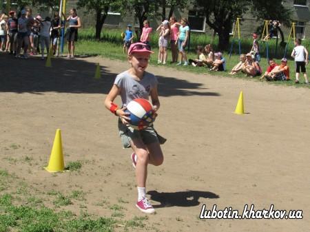 Спортивно – масові заходи у літньому таборі «Соколятко»