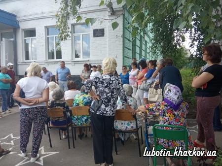 Зустріч міського голови  ЛАЗУРЕНКА Л.І.  з мешканцями  центральної частини міста