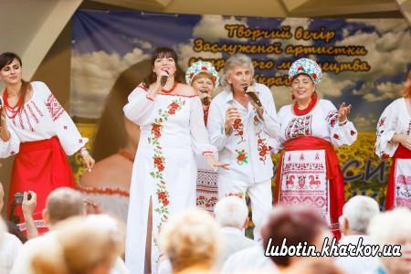 Творчий звіт Лариси Глущенко