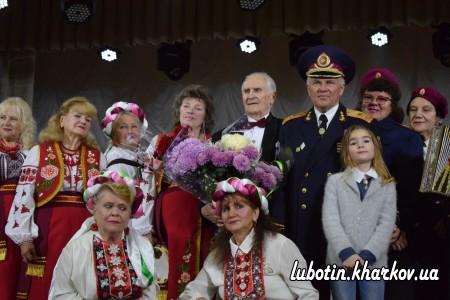 18 жовтня у міському Будинку культури відбувся творчий вечір з нагоди 80-річного ювілею Заслуженого артиста естрадного мистецтва України О.Я. Еткало