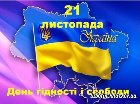 21 листопада Україна відзначає День Гідності та Свободи.