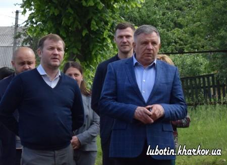 Сьогодні у м.Люботині із робочою поїздкою перебував заступник голови ХОДА Руслан Тихонченко