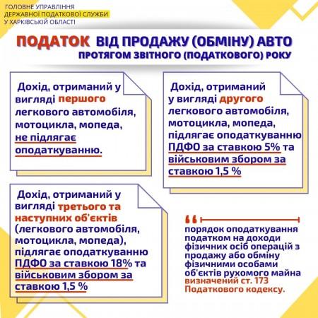 Головного управління ДПС у Харківській області інформує!