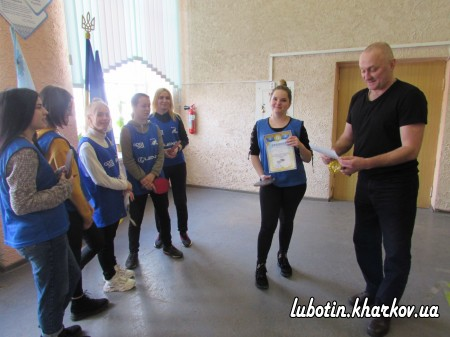 Турнір з тенісу настільного серед дівчат, присвячений Міжнародному дню 8-го Березня